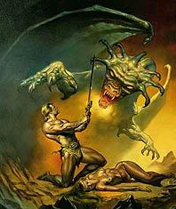 Демон Маммоны - служители богатства, стяжательства, войны, убийства